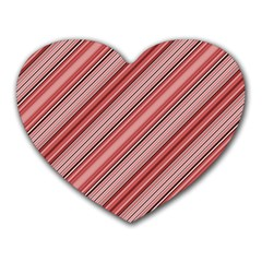 Lines Mouse Pad (heart)