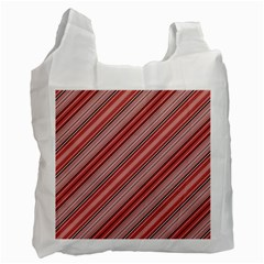 Lines Recycle Bag (two Sides)