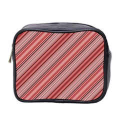 Lines Mini Travel Toiletry Bag (two Sides)