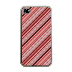 Lines Apple iPhone 4 Case (Clear)