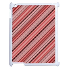 Lines Apple iPad 2 Case (White)