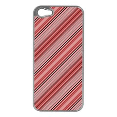 Lines Apple iPhone 5 Case (Silver)