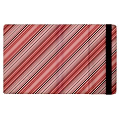 Lines Apple Ipad 2 Flip Case