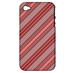 Lines Apple iPhone 4/4S Hardshell Case (PC+Silicone)
