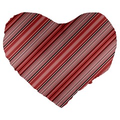 Lines 19  Premium Heart Shape Cushion