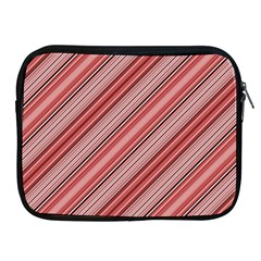 Lines Apple iPad Zippered Sleeve