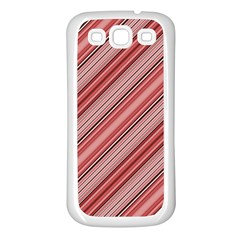Lines Samsung Galaxy S3 Back Case (white)