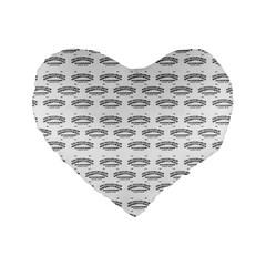 Talking Board 16  Premium Heart Shape Cushion