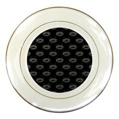 Talking Board Porcelain Display Plate
