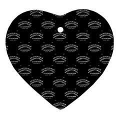 Talking Board Heart Ornament (Two Sides)