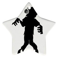 Zombie boogie Star Ornament