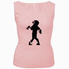 Zombie boogie Womens  Tank Top (Pink)