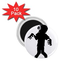 Zombie boogie 1.75  Button Magnet (10 pack)