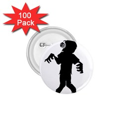 Zombie Boogie 1 75  Button (100 Pack)