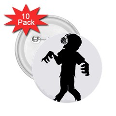 Zombie Boogie 2 25  Button (10 Pack)