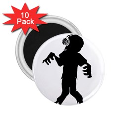 Zombie boogie 2.25  Button Magnet (10 pack)