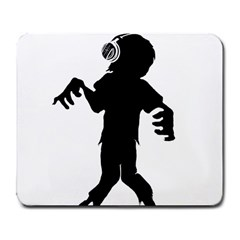 Zombie boogie Large Mouse Pad (Rectangle)