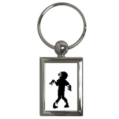 Zombie Boogie Key Chain (rectangle)