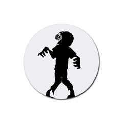 Zombie boogie Drink Coasters 4 Pack (Round)