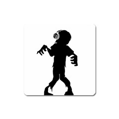Zombie boogie Magnet (Square)