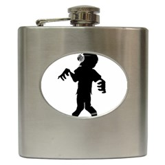 Zombie boogie Hip Flask