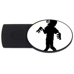 Zombie boogie 2GB USB Flash Drive (Oval)