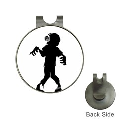 Zombie boogie Hat Clip with Golf Ball Marker