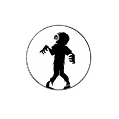 Zombie Boogie Golf Ball Marker (for Hat Clip)