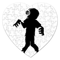 Zombie boogie Jigsaw Puzzle (Heart)