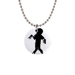 Zombie boogie Button Necklace