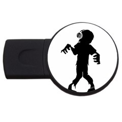 Zombie boogie 4GB USB Flash Drive (Round)