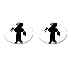 Zombie boogie Cufflinks (Oval)