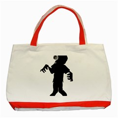 Zombie boogie Classic Tote Bag (Red)