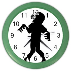 Zombie boogie Wall Clock (Color)