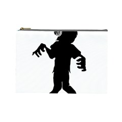 Zombie Boogie Cosmetic Bag (large)