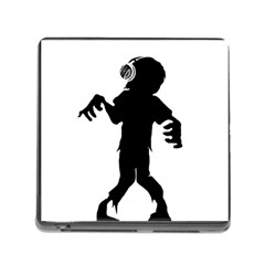 Zombie boogie Memory Card Reader with Storage (Square)