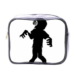 Zombie Boogie Mini Travel Toiletry Bag (one Side)