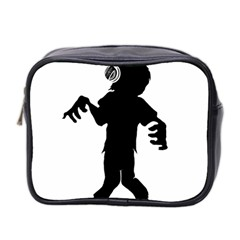 Zombie boogie Mini Travel Toiletry Bag (Two Sides)