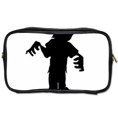 Zombie Boogie Travel Toiletry Bag (two Sides)