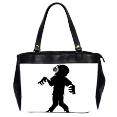 Zombie boogie Oversize Office Handbag (Two Sides)