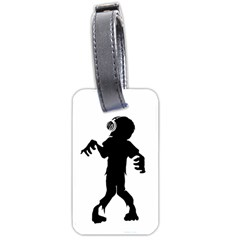 Zombie Boogie Luggage Tag (two Sides)