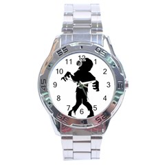 Zombie boogie Stainless Steel Watch