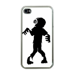 Zombie boogie Apple iPhone 4 Case (Clear)