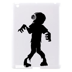 Zombie Boogie Apple Ipad 3/4 Hardshell Case (compatible With Smart Cover)