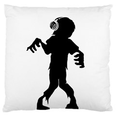 Zombie boogie Large Cushion Case (Two Sided)