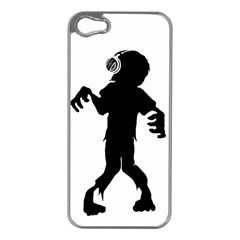Zombie Boogie Apple Iphone 5 Case (silver)