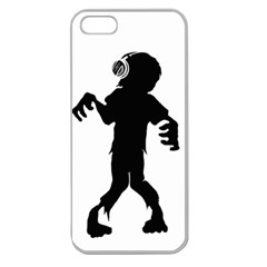 Zombie boogie Apple Seamless iPhone 5 Case (Clear)