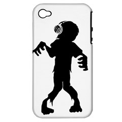 Zombie boogie Apple iPhone 4/4S Hardshell Case (PC+Silicone)