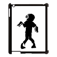 Zombie boogie Apple iPad 3/4 Case (Black)