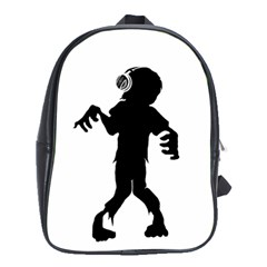 Zombie Boogie School Bag (xl)